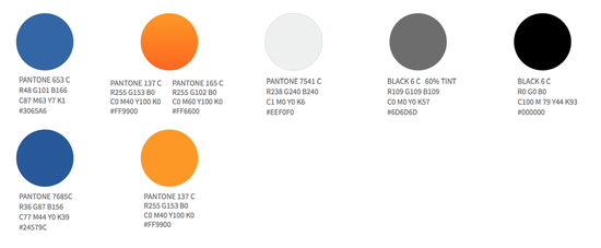 Visual Style Guide Colors